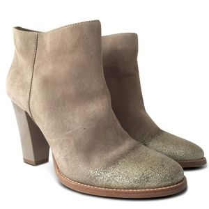 NEW Marley Degrade-glitter Suede Ankle Boots